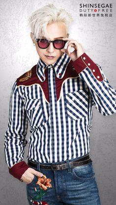 G-DRAGON × 新世界免税店♡ の画像|Oh Ma Baby