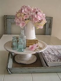Goodbye, House. Hello, Home! Blog : 27 Ways to Use a Cake Stand, Plate, or Pedestal {for something other than cake}