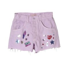 | CANDY STORE ❤ liked on Polyvore featuring shorts and bottoms