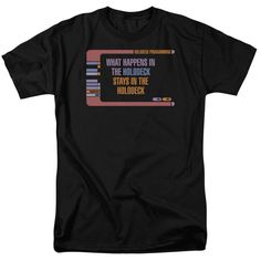 Star Trek: The Next Generation: Holodeck Secrets T-Shirt