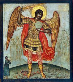 Simon Fyodorovich Ushakov - Archangel Michael (1676)