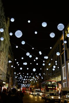 James Reid our catenary lighting engineer in Queensland, took this shot of Oxford street while touring the UK in November.