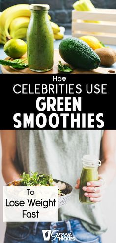 Green smoothie recipes 174373816809326817 - How Celebrities Use Green Smoothies To Lose Weight Fast. I'm so excited to share the secret green smoothie recipes celebrities are drinking to stay slim. Source by greenthickies Green Smoothie Cleanse, Detox Smoothie Recipes, Healthy Green Smoothies, Healthy Detox, Detox Smoothies, Breakfast Smoothies, Detox Juices, Smoothie Prep, Juicer Recipes