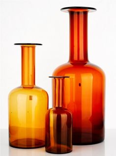 Would love a collection of Holmegaard vases