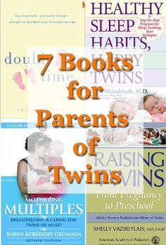 Seven great books for parents of twins or multiples