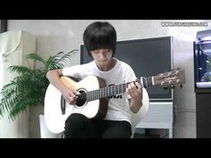▶ (Yiruma) River Flow in You - Sungha Jung - YouTube Guitar music for nice day serious attitude ambiance.