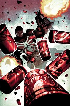 Agent Venom by Mike Del Mundo and Kev Walker
