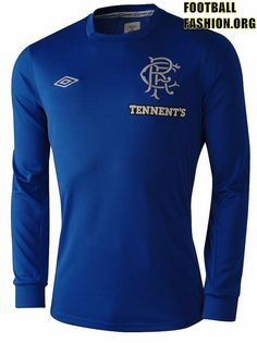 Glasgow Rangers Umbro 2012/2013, this jersey remembering their battle vs Dinamo Moskva on Nou Camp '72. Legendary!