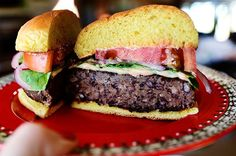 Black Bean Burger (via Bloglovin.com )