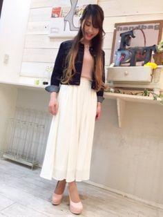 いま欲しい!ドレープ性のある記事でスカートに見えるジョーゼットスカーチョ。女性らしさを演出しつつアクティブなシーンにも最適なスカーチョファッションスタイルコーデを集めました♡