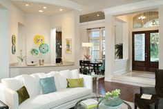 Carlisle 1100 - traditional - living room - tampa - Arthur Rutenberg Homes Living Room White, Formal Living Rooms, My Living Room, Living Area, Paint Colors For Home, House Colors, Paint Colours, Custom Home Designs, Custom Homes