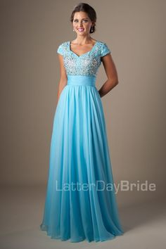 b77ea5be376f4 28 Best Modest dresses (Latter Day Bride and Prom) images   Cute ...