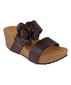 Love this Chocolate Pond Sandal on #zulily! #zulilyfinds