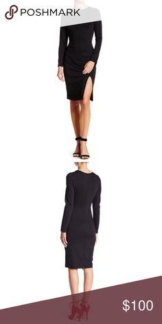 Bodycon Dress Vanity Room Long Sleeve Ponte Bodycon Dress Vanity Room Dresses Midi