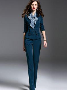 Ericdress Vintage Elegant Blazer Formal Suit