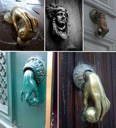 door knobs/knockers