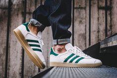 Adidas Gazelle (Vintage White/Collegiate Green)