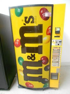 M's Cold Candy Vending Machine
