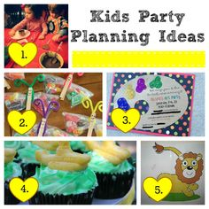 Kids Party Planning Ideas