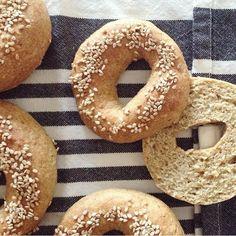 """Grove Glutenfri Bagels"" m. Gluten Free Buns, Low Fodmap, Low Carb, Celiac, Food And Drink, Bread, Bagels, Baking, Dinner"