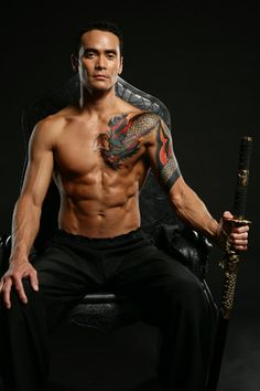 Mark Dacascos > now playing Wo Fat in Hawaii 5O, if you were looking for him