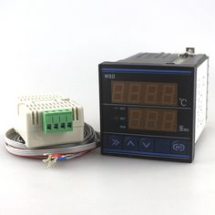 buy 72x72mm thermometer hygrometer temperature humidity controller thermostat tdk0302la with 3m #thermostat #wiring