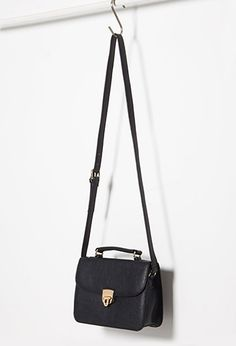 Faux Leather Mini Satchel | Forever 21 - 1000077916