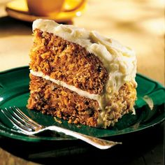 Try a new twist to carrot cake - add pumpkin!