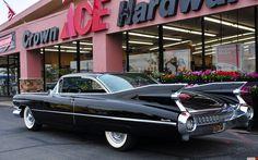 1959 cadillac coupe deville - Поиск в Google