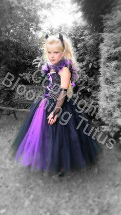 Disney Maleficent Inspired Handmade Tutu Dress  by BloomingTutusUK, £20.00