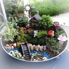 Garden Ideas · Miniature Fairy Gardens · Garden Terrarium · Beautiful!