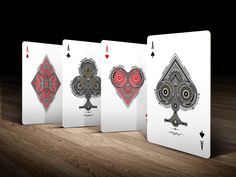 Believe Playing cards by System 6Magic. - Intricate detail, unlike any other set of Aces. kickstarter