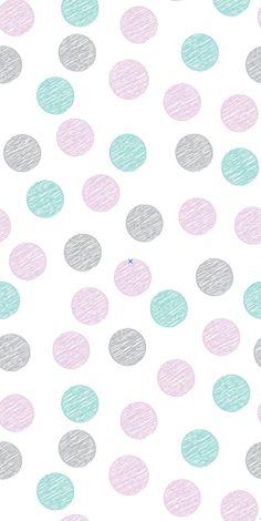 Removable Wallpaper wallpaper Polka dot by BCMagicWallpaper