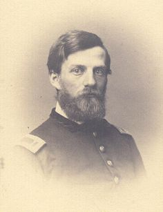Col. Henry W. Kingsbury (1836-1862); West Point, Class of June 1861. He commanded the 11th Connecticut Infantry Regiment. Serving in the corps of Ambrose Burnside, his former legal guardian, he was mortally wounded at Antietam by Confederate troops belonging to the division of D.R. Jones, one of his brothers-in-law (the other was Confederate Gen. Simon B. Buckner). The heartbroken Jones died four months later.