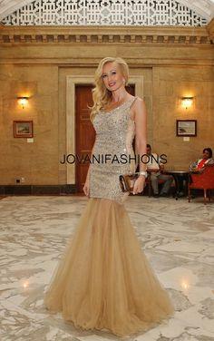 #Jovani Nude Beaded gown. #Jovanidresses   http://www.jovani.com/prom-dresses-view-all.html