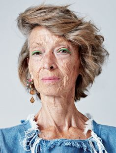 Ageless beauty: 72-y