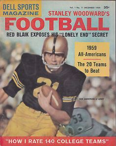 awesome DELL SPORTS STANLEY WOODWARD'S FOOTBALL MAGAZINE- DECEMBER 1959- VINTAGE - For Sale View more at http://shipperscentral.com/wp/product/dell-sports-stanley-woodwards-football-magazine-december-1959-vintage-for-sale/