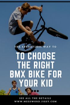 It's very important for kids to feel comfortable and secure while riding since this will give them more confidence to develop their skills. For instance, 18 inch Bmx bikes best suited for kids aged between 7 and 11. In addition to age, the height of your kid is also an important factor to consider when deciding on the correct bicycle size. With their low stand handlebar, 18 inch Bmx bikes can be the ideal choice for little riders that are up to 147 cm tall.