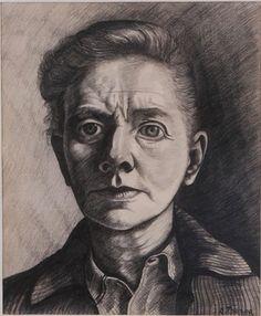 toorop charley - self, 1943.
