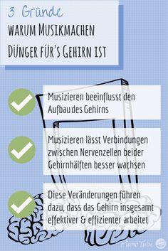 Musikmachen ist Dünger für's Gehirn | PianoTube.de | #MusikUndGehirn #Hirnforschung