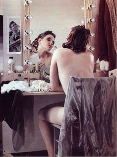 Paul Outerbridge: Nude Sitting at a Dressing Table