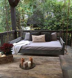 knotty artisan bed swings