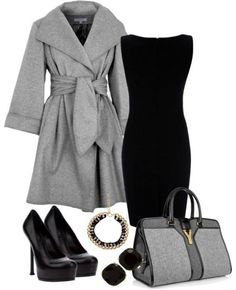 Black & Grey} Always when buying take into account that are practiced fashions which never go out of fashion. Ivonne Cruz.