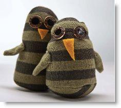Owl Sock Friends tutorial