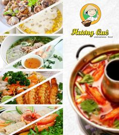 Huong Que is a famous local restaurant which serves Vietnamese food. Ad Design by Bingazz.com.#penang #food #design #vietnamese