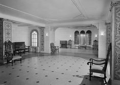210 West 101st Street. Remodeled lobby, apartments. 7/8/1942.