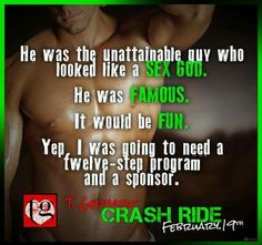 RELEASE DAY BLITZ: CRASH RIDE by T Gephart   BOOK INFO Title: Crash Ride Series: Power Station #2 Author: T. Gephart Release Date: February 19, 2015  SYNOPSIS Megan Winters had lusted over Troy Harris, drummer for international rock band Power Station, for years. Not being the type of girl who was invited backstage, her fantasies had stayed just that, fantasies. When her best friend unexpectedly starts dating one of the other band members it puts her on a crash course at war with her libido…