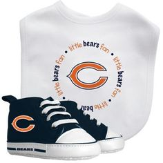 Baby Fanatic NFL Chicago Bears 2-Piece Gift Set