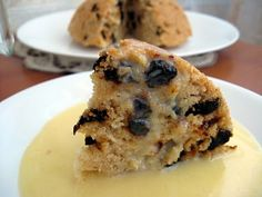 spotted dick. i see the spots but where is the...?