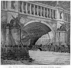 Competition design for a triumphant bridge - Maurice Durand